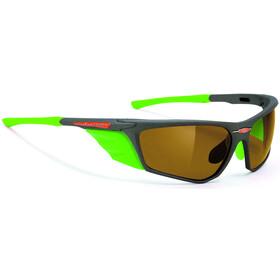 Rudy Project Zyon Cykelbriller grå/grøn